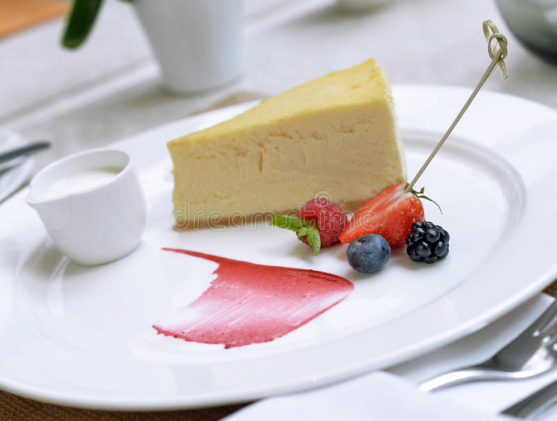 Download Cheesecake with berries stock image. Image of blue, huckleberry - 34537025