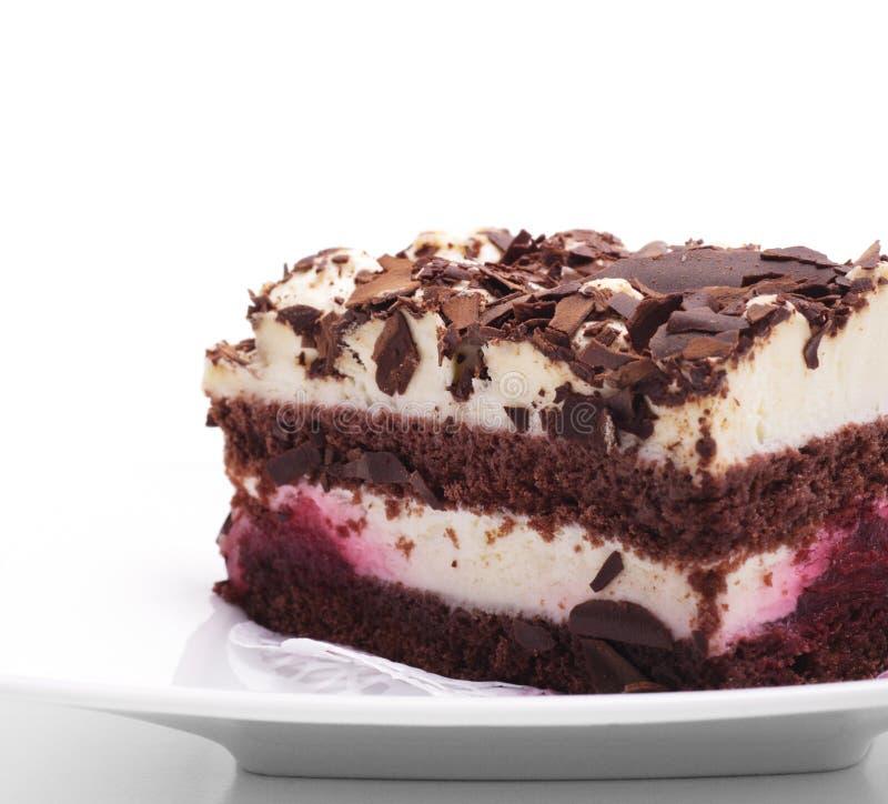 cheesecake czekolady deser fotografia royalty free