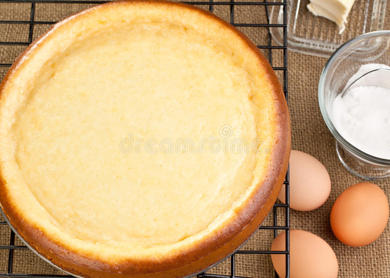 Download Cheesecake With It's Ingredients Stock Photo - Image: 17644288