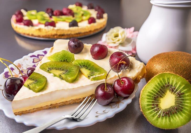 Cheesecake Slice stock image