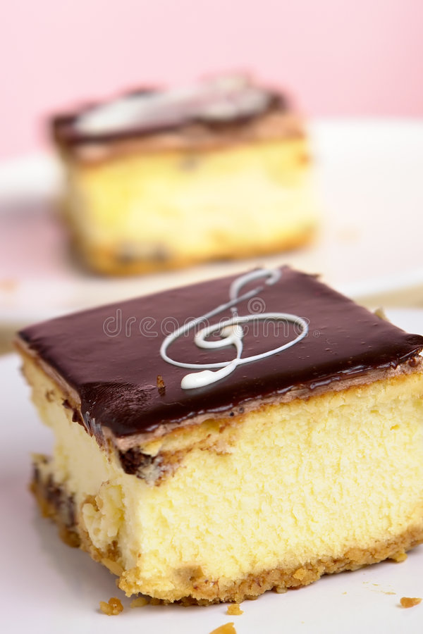 Download Cheesecakes stock image. Image of music, garnished, bake - 1804931