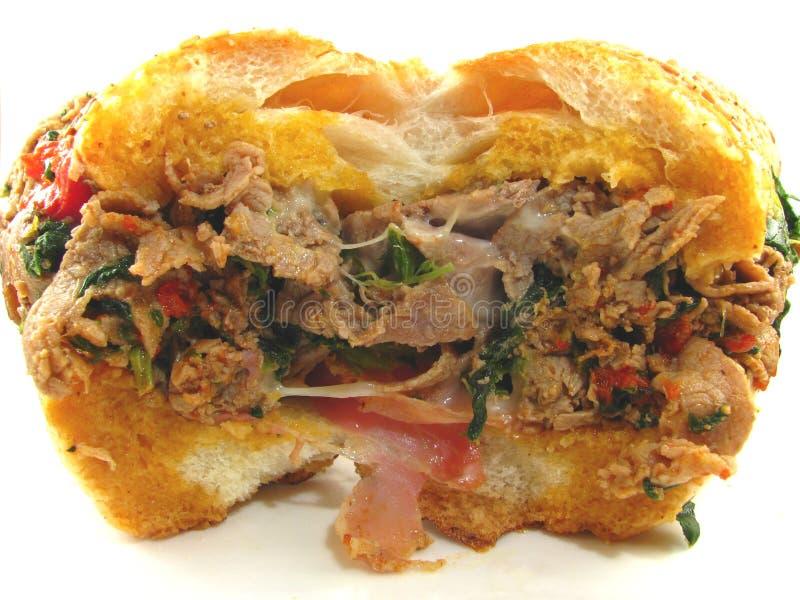 cheesesteak ιταλικό σάντουιτς στοκ φωτογραφίες με δικαίωμα ελεύθερης χρήσης