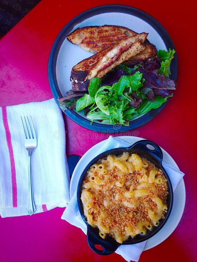 Cheesy Lunch stock photos