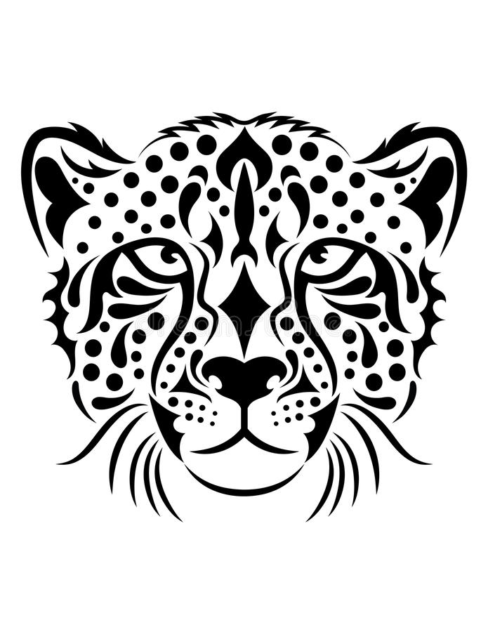 Cheetah. vector illustration