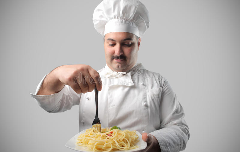 Chef royalty free stock photo