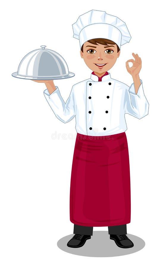 chef illustrazione di stock