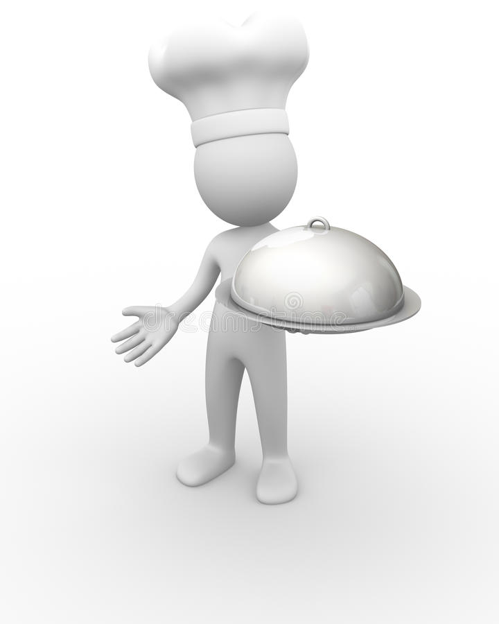 Download Chef stock illustration. Image of entree, person, plan - 17306690