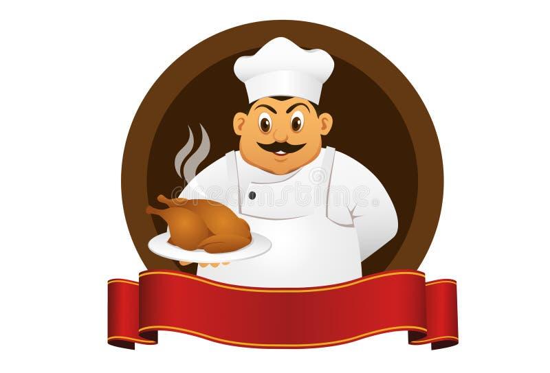 Chef stock illustration