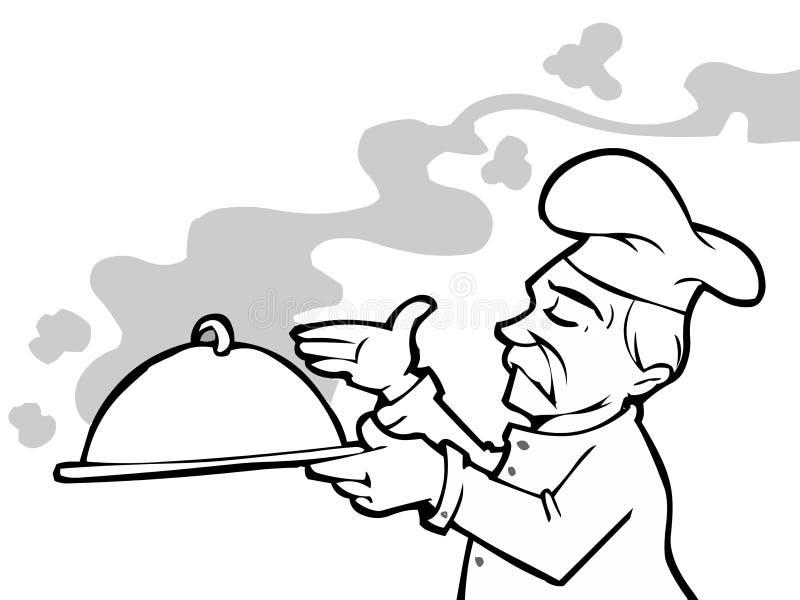Download Chef stock illustration. Illustration of cards, restaurant - 1829466