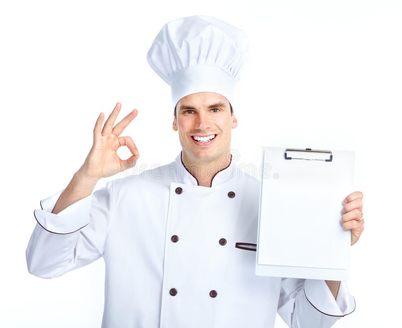Download Chef stock photo. Image of smile, plan, worker, male - 18551630