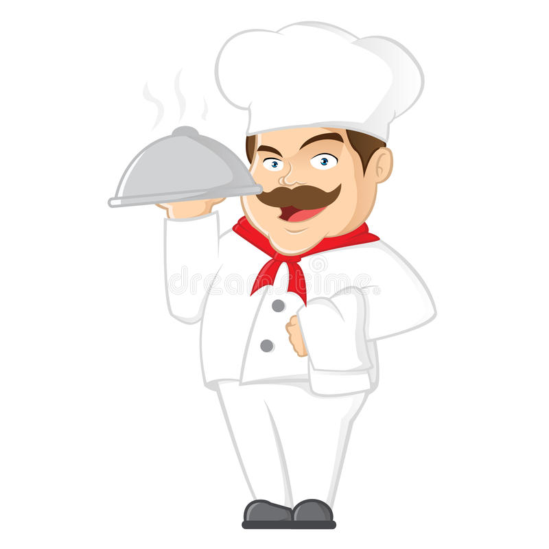 Download Chef stock vector. Image of mascot, cook, cartoon, smiling - 22227586