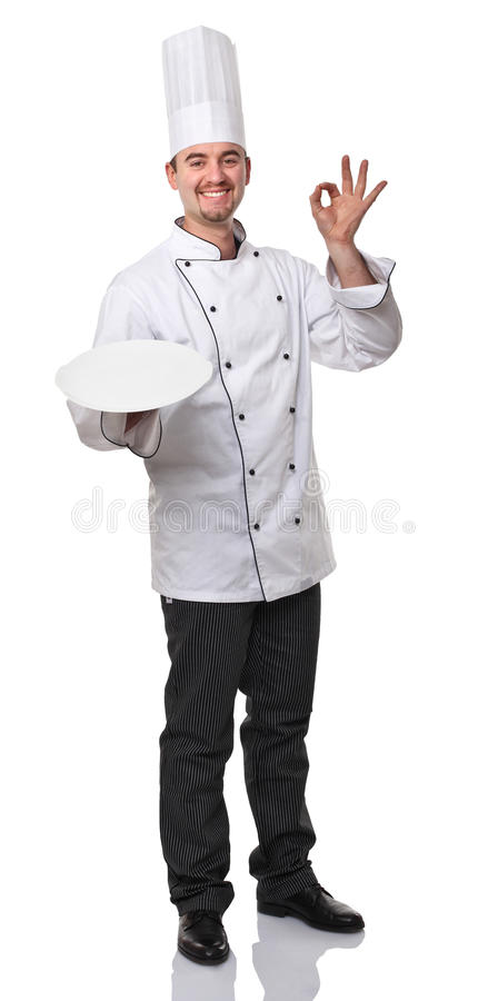 Download Chef photo stock. Image du sourire, verticale, service - 23113048