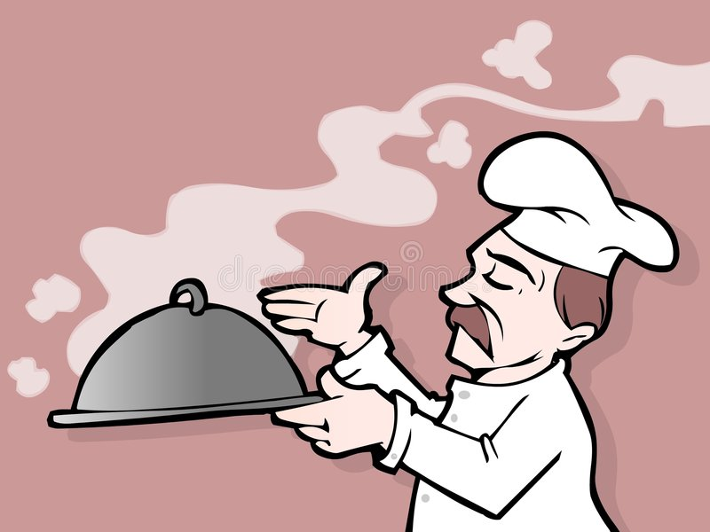 Download Chef stock illustration. Image of illustration, chef, drawing - 2902572
