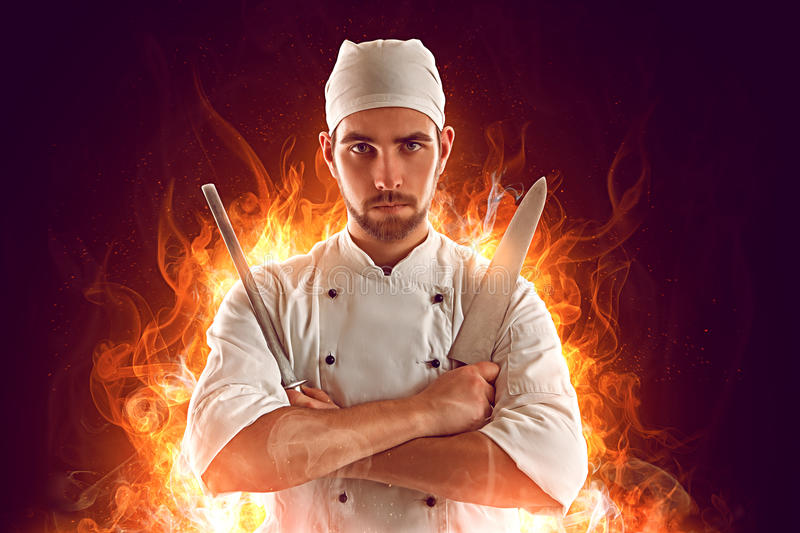 chef fotografia de stock royalty free