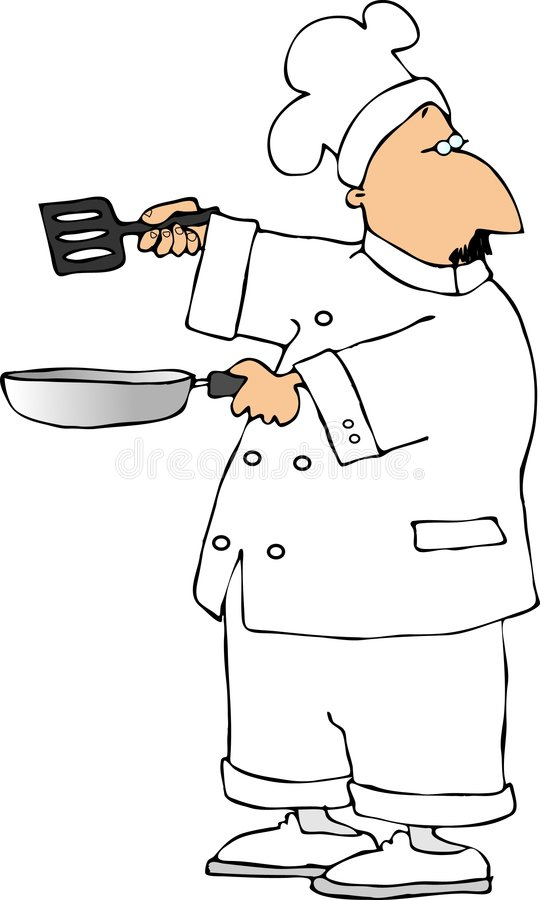 Chef stock illustration