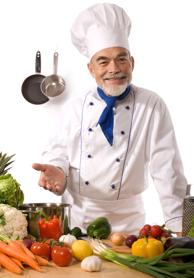 Download Chef Royalty Free Stock Image - Image: 7124946