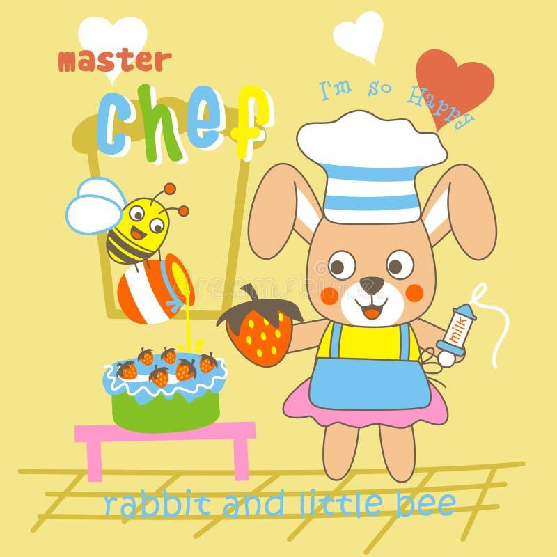 chef ilustracji
