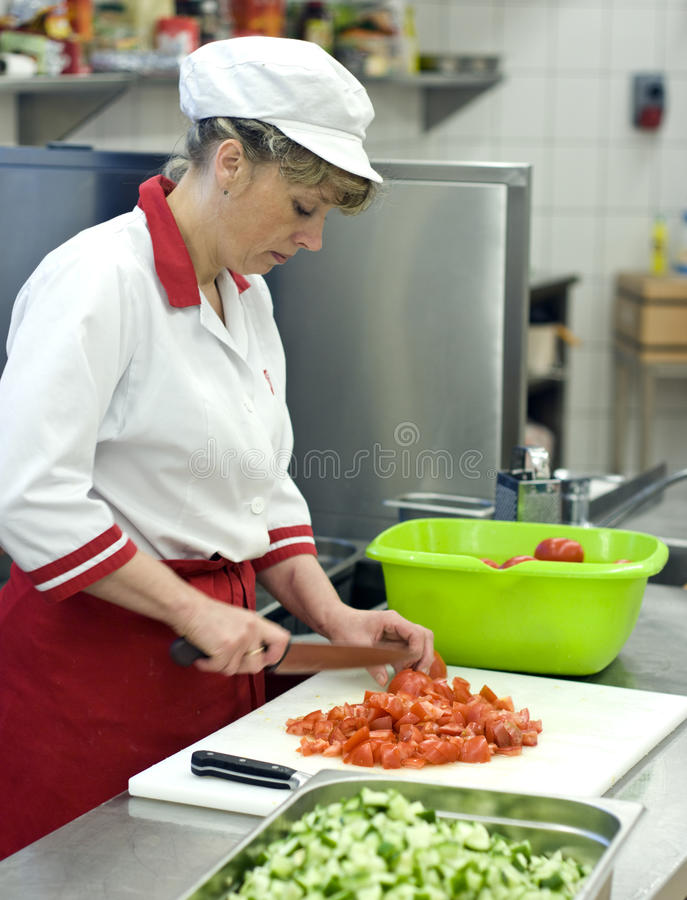 Download Chef stock photo. Image of fixed, female, hotel, business - 9449166