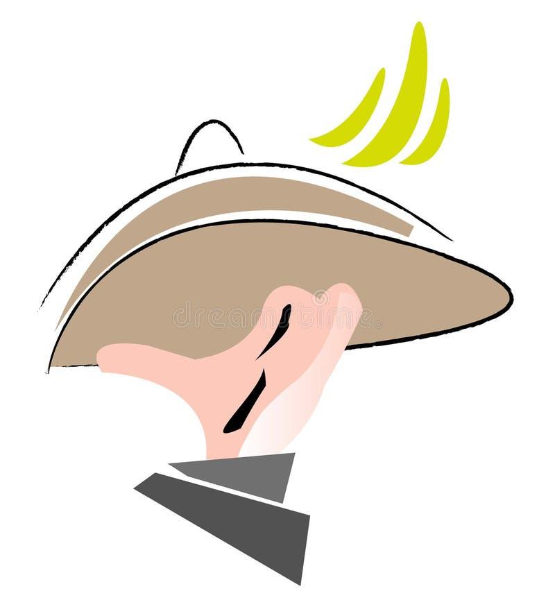chef illustration de vecteur