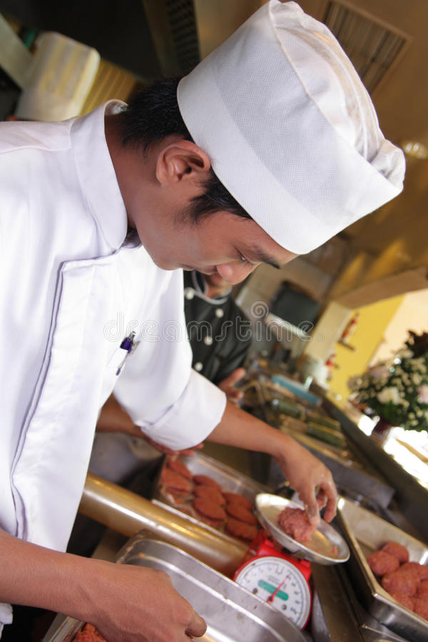 Download Chef stock photo. Image of lunch, people, uniform, person - 9479884