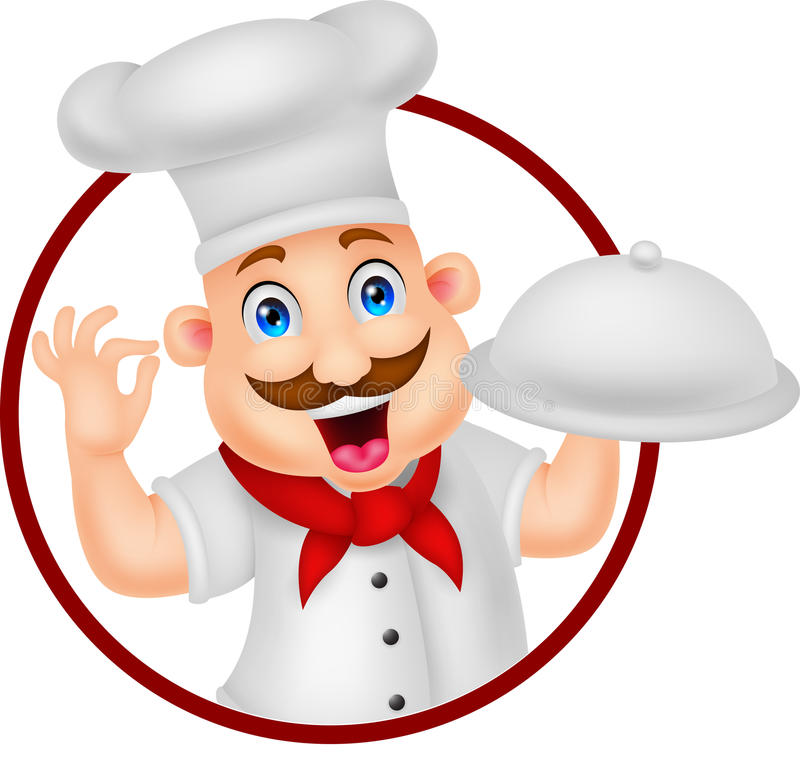 Chef cartoon character stock vector illustration of - Dibujos de cocineros infantiles ...