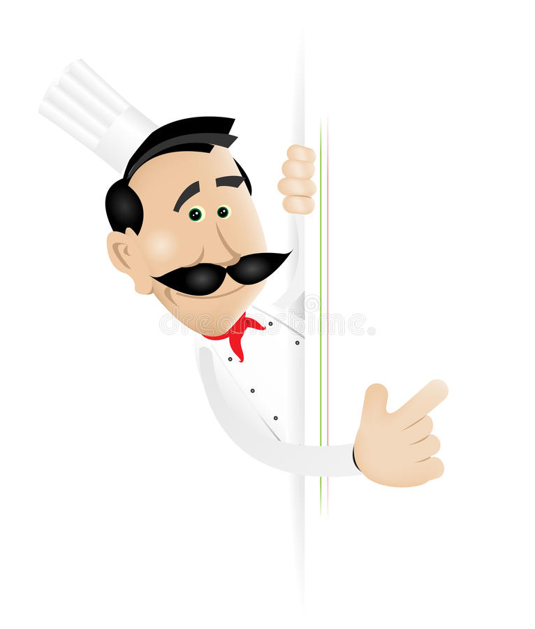 Chef Cook royalty free illustration