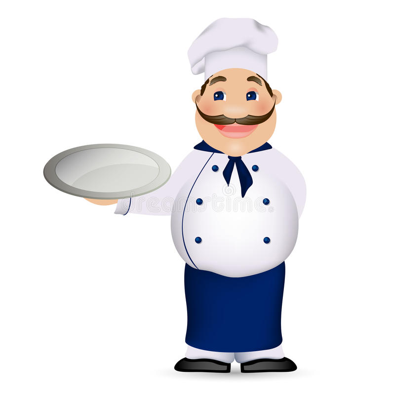 Download Chef Cook stock illustration. Image of placard, cuisine - 28043579