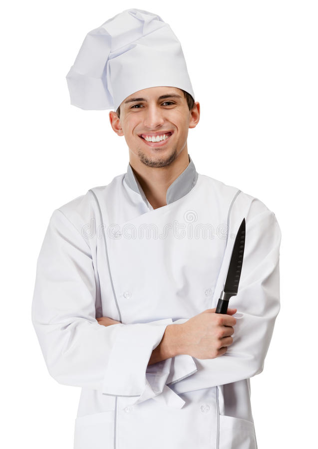 Download Chef Cook Hands Knife Royalty Free Stock Image - Image: 27112216