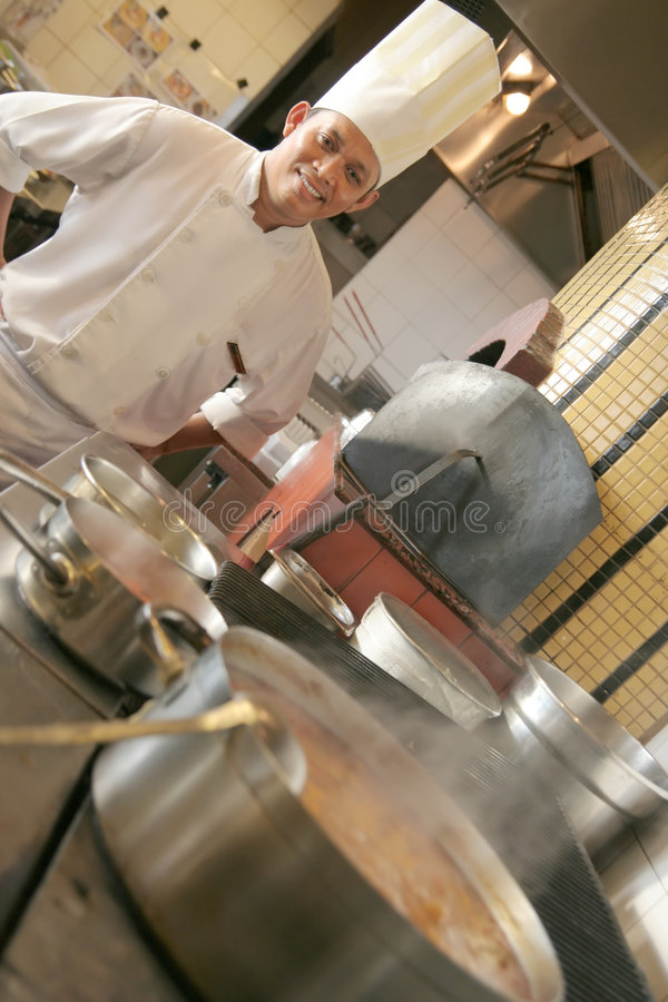 Download Chef cooking stock image. Image of cooking, restaurant - 6212669