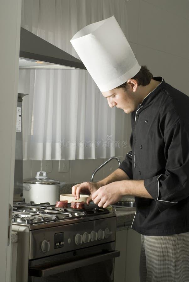 chef cooking στοκ φωτογραφίες