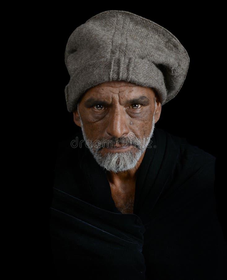 Chef d'Afgan image libre de droits