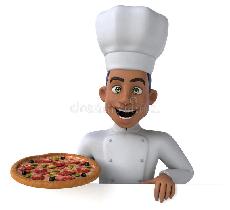 Download Chef d'amusement illustration stock. Illustration du isolement - 56491021