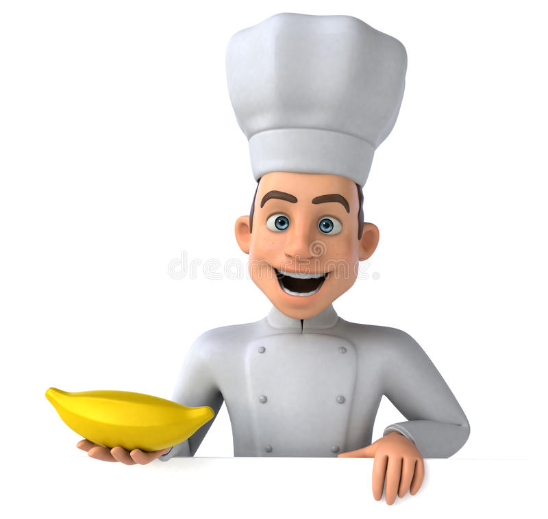 Download Chef d'amusement illustration stock. Illustration du recette - 56491140