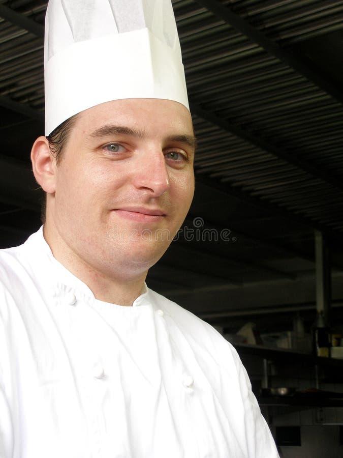Chef dans la cuisine photos libres de droits