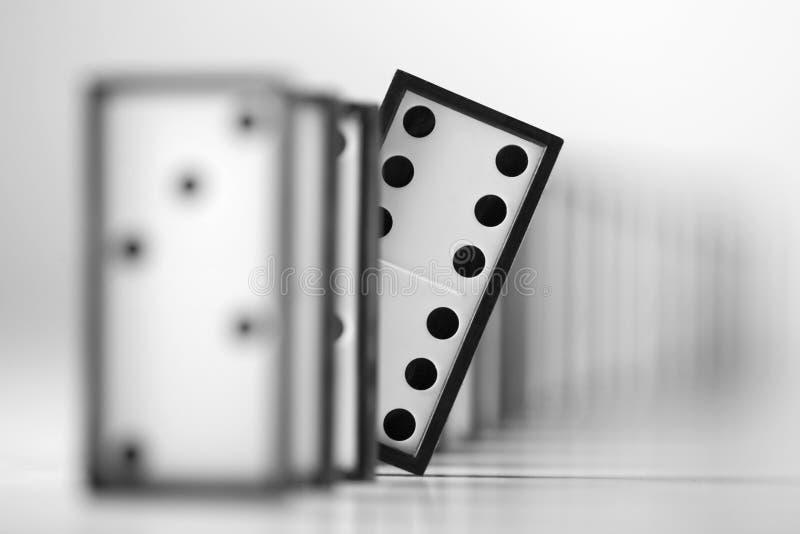 Chef de domino image libre de droits