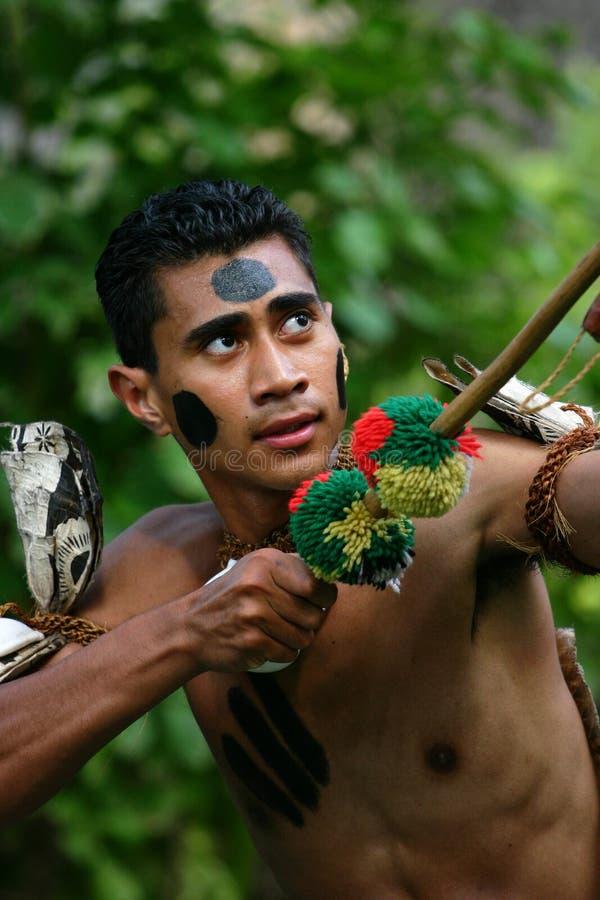 Chef de Fijian image libre de droits