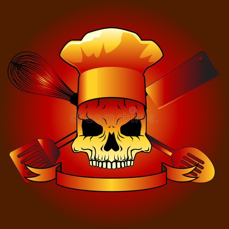 Chef de la mort illustration stock