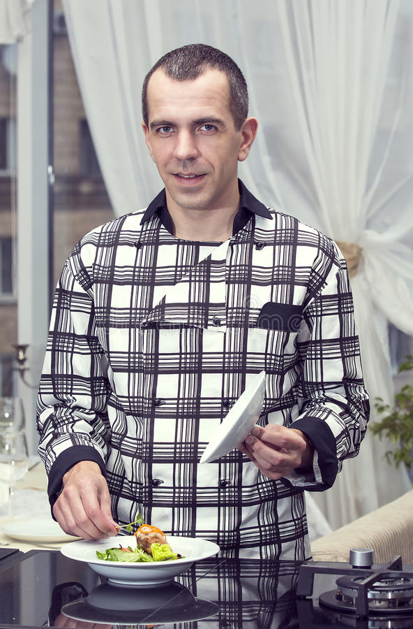 Chef des Restaurants lizenzfreie stockbilder