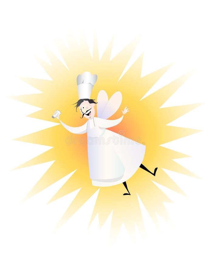 Chef féerique illustration stock