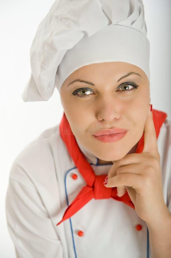 Chef féminin de planification photo stock