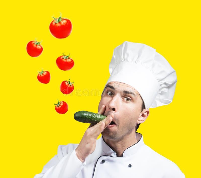 chef funny στοκ φωτογραφίες