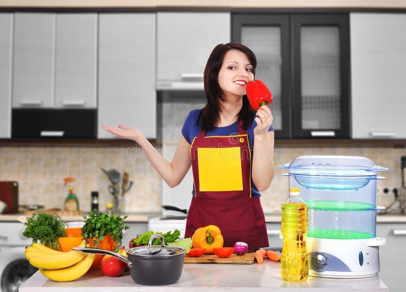 Chef Girl photographie stock