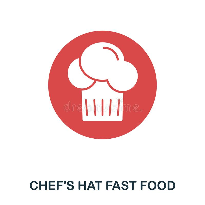 Chef Hat icon. Mobile apps, printing and more usage. Simple element sing. Monochrome Chef Hat icon illustration. Chef Hat icon. Mobile apps, printing and more vector illustration