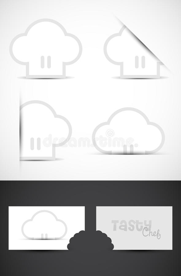 chef hat template printable - chef hat logos stock photo image of caps template black