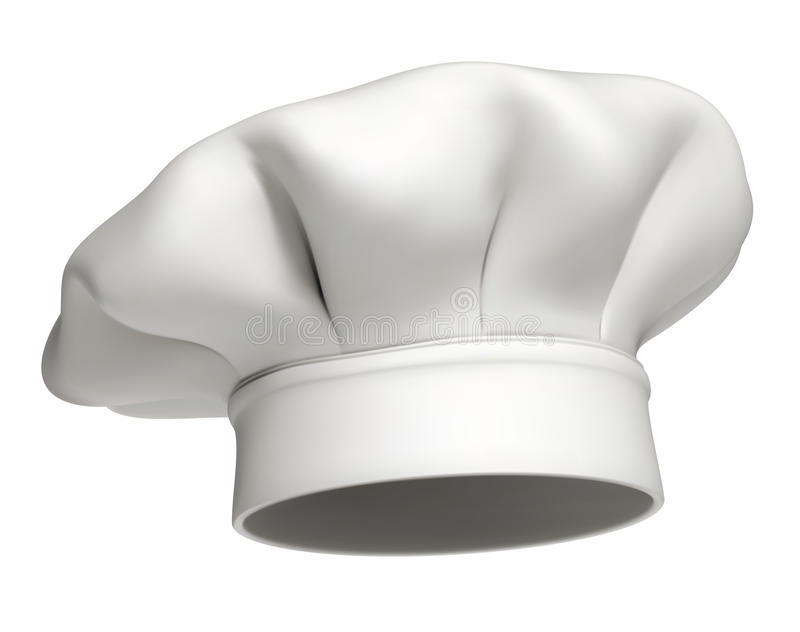 Chef hat vector icon - isolated royalty free illustration