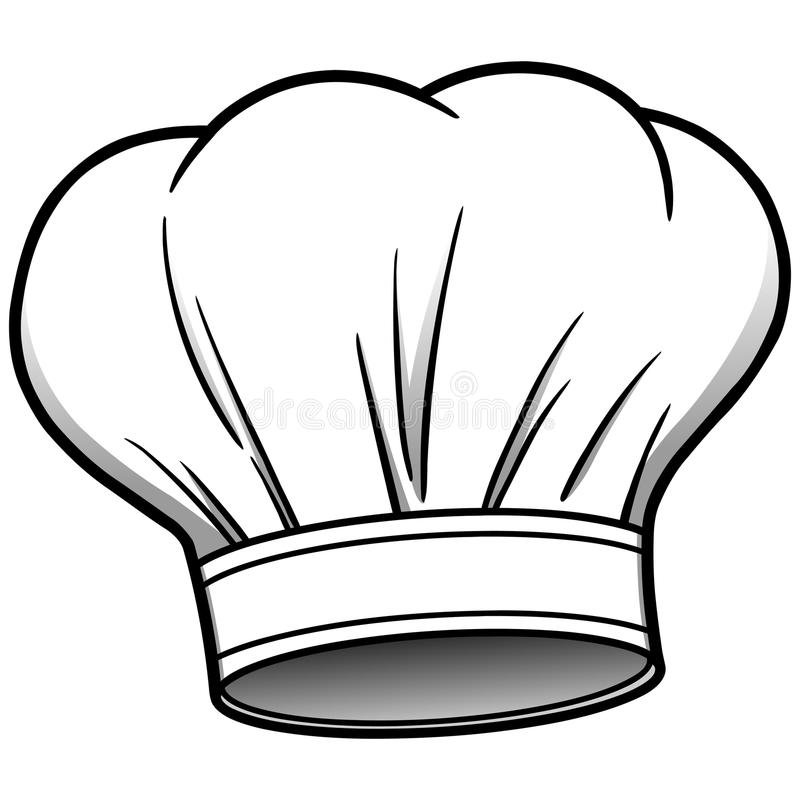 chef hat stock vector illustration of vector painting 53745410 rh dreamstime com chef hat clipart image free clipart chef hat