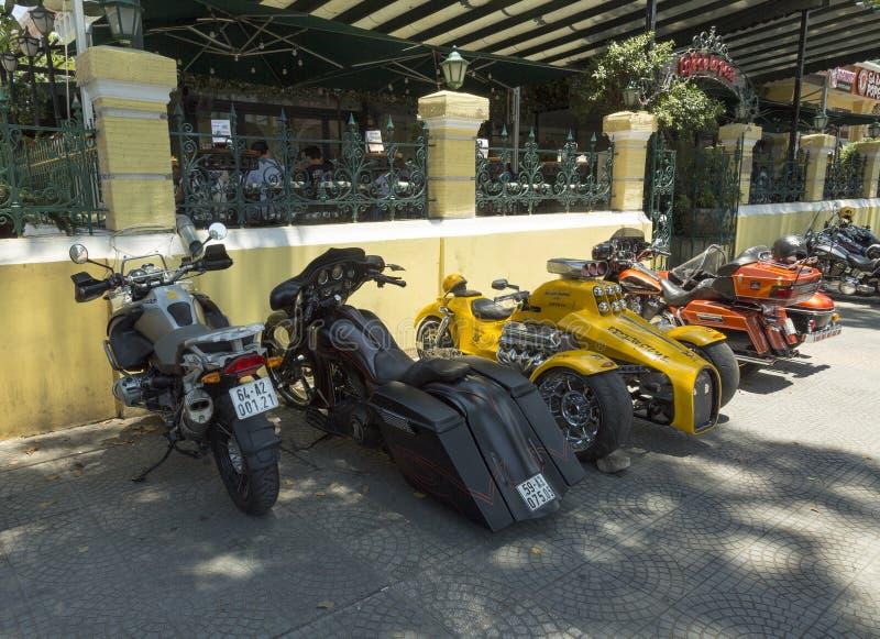 Chef- Hoss 501 ci motocycle royalty-vrije stock afbeeldingen