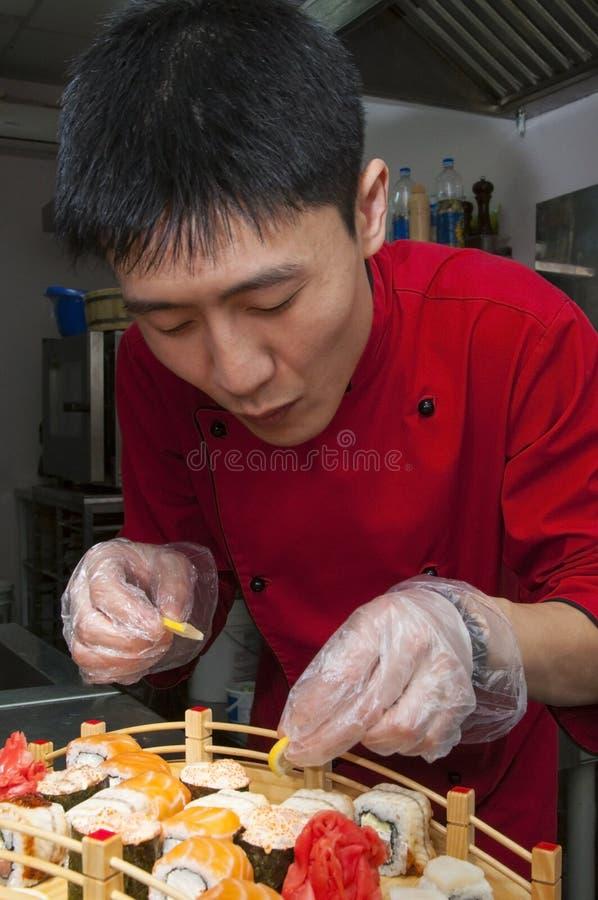 Chef japonais photographie stock