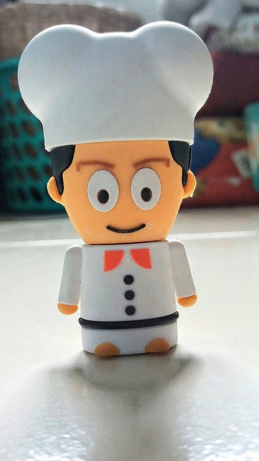 Chef-kok Model stock foto's