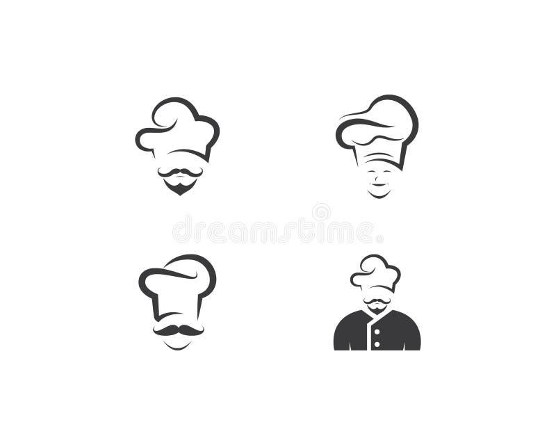 Chef logo template vector illustration